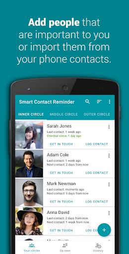 Download APK: Smart Contact Reminder: Call & birthday reminders v2.0.2 [Premium]