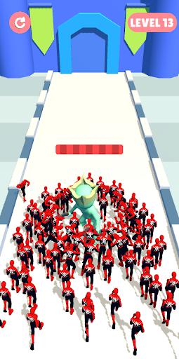 Superhero Crowd Pusher - Crowd City 3D hack tool