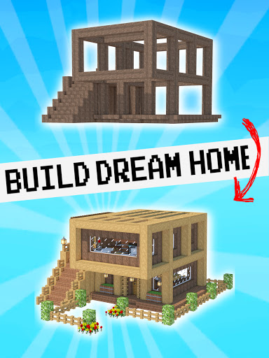 House Craft 3D - Idle Block Building Game screenshots 5
