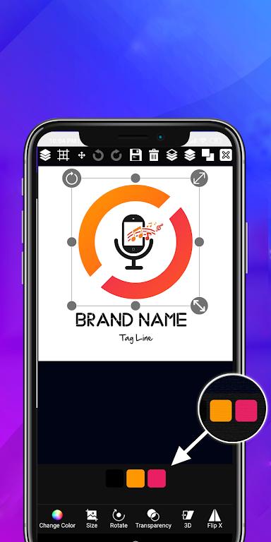 Logo maker 2020 3D logo designer, Logo Creator app – Apps on Google Play poster 6