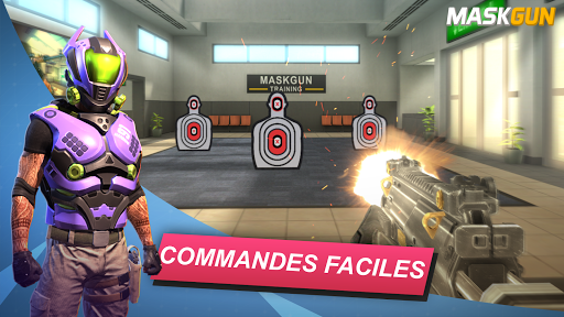 MaskGun Multiplayer FPS - Jeu de tir gratuit  screenshots 1