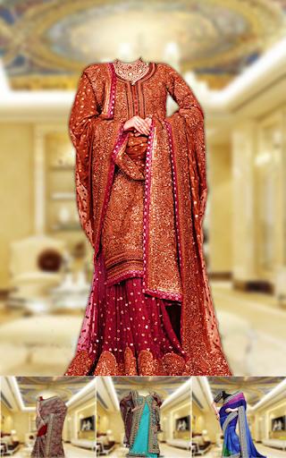 royal bridal dress photo maker screenshot 3