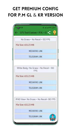 LFX Tool Custom- GFX Tool, IPAD View No Grass PUBG android2mod screenshots 4