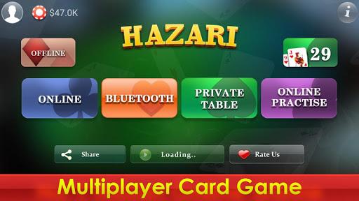 Hazari - 1000 Points Card Game Online Multiplayer 1.0 screenshots 2