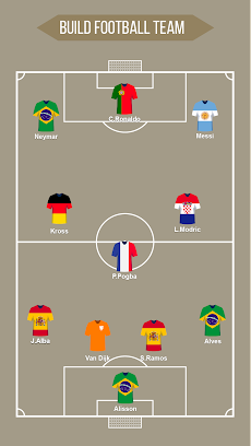Football Squad Builder : Build your own lineup 11のおすすめ画像2
