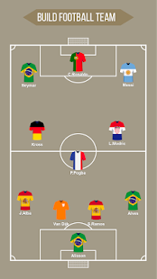 Football Squad Builder - Strategy, Tactic, Lineup 2.6.7 Screenshots 2