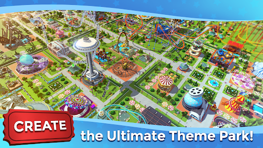 RollerCoaster Tycoon Touch - Build your Theme Park 3.18.22 (MOD, Unlimited Money)