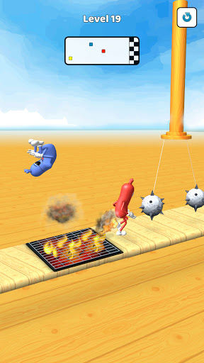 Wacky Sausage Game 2021: Fun Run Game 4 screenshots 2