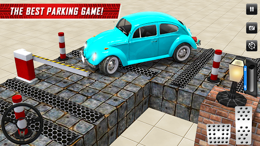 Classic Car Parking Real Driving Test apkpoly screenshots 5