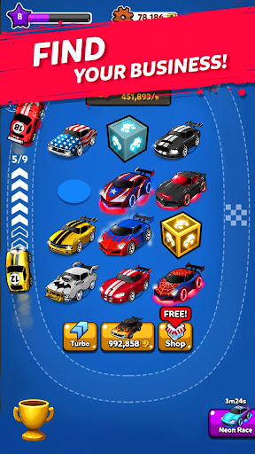 Merge Battle Car: Best Idle Clicker Tycoon game 2.0.11 screenshots 14