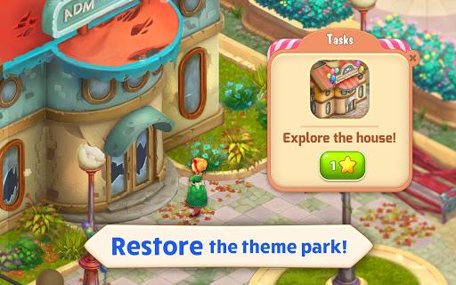 Matchland - Build your Theme Park  screenshots 14