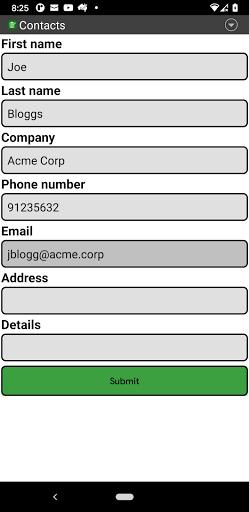 Download APK: Custom Data Recorder v2.0 [Paid]