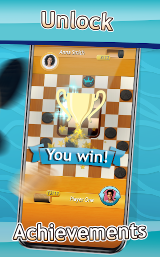 Checkers - Draughts Multiplayer Board Game 3.0.9 screenshots 10
