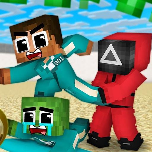 Mod Squid Game For Minecraft PE - Squid Skins
