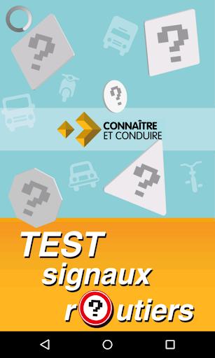 test signal routier screenshot 1