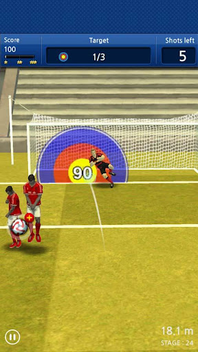 Finger soccer : Football kick 1.0 Screenshots 9