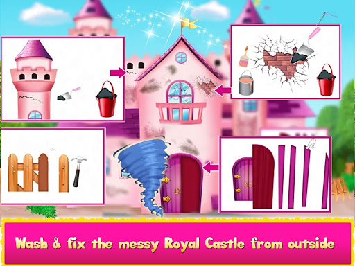 Cleaning games Kids - Clean Decor Mansion & Castle 8.1 screenshots 10