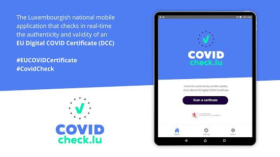CovidCheck.lu