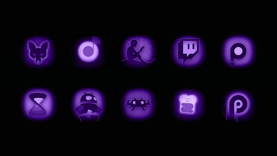 Ultraviolet – Stealth Purple Icon Pack v1.9 (Patched) 1