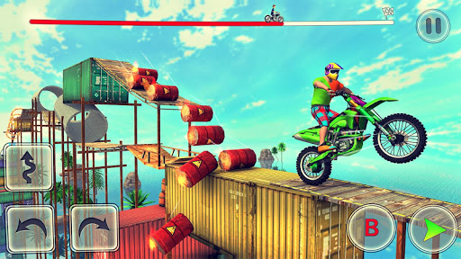 Bike Stunt Race 3d Bike Racing Games - Free Games apkpoly screenshots 1