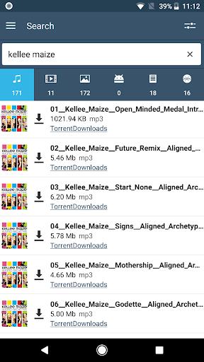 FrostWire: Torrent Downloader & Music Player apktram screenshots 2
