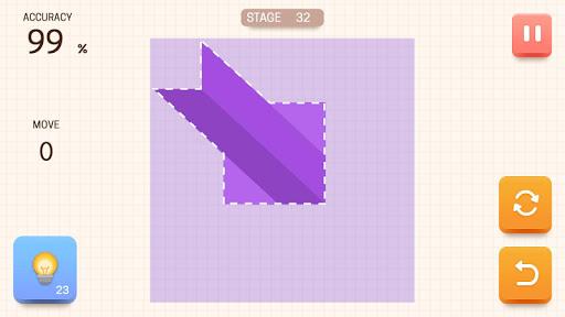 Paper Folding Puzzle  screenshots 1