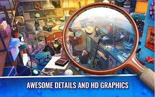 Hidden Objects Crime Scene Clean Up Game