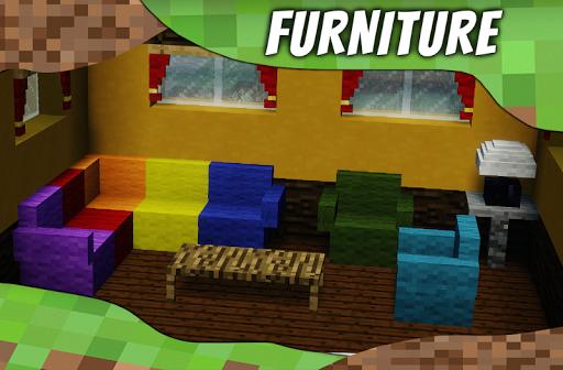 Mod furniture. Furniture mods for Minecraft PE 2.2 Screenshots 1
