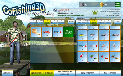 GoFishing3D The Real Fishing APK MOD – ressources Illimitées (Astuce) screenshots hack proof 1
