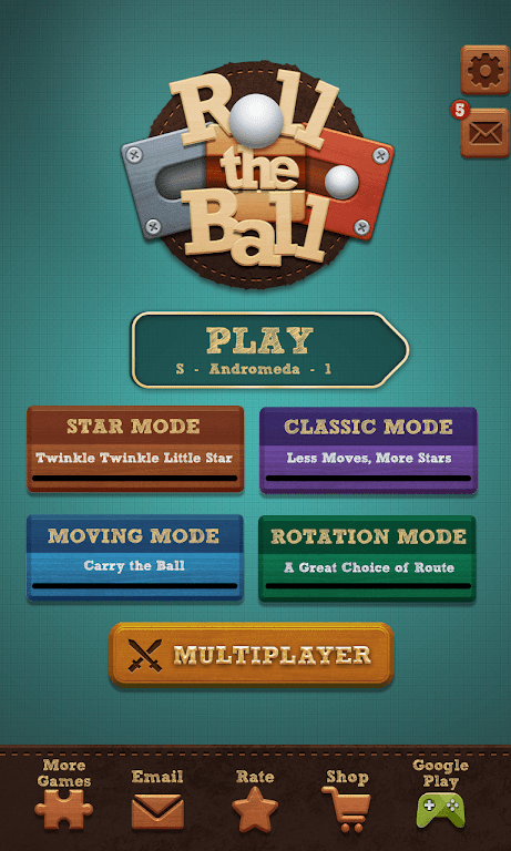 Roll the Ball® - slide puzzle  poster 9
