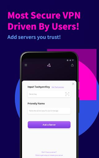 Tachyon VPN - Private Free Proxy  Screenshots 7
