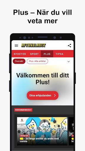 Aftonbladet Nyheter apktram screenshots 5