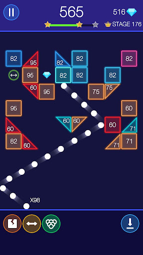 Bricks Breaker - Glow Balls 1.20.208 Screenshots 24