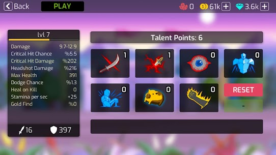 Stick Fight – Shadow Archer Battle Arena Mod Apk (Unlimited Items) 5