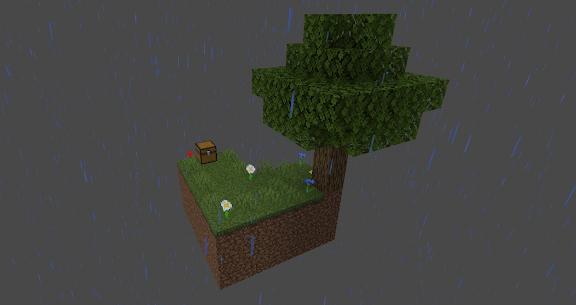 Mapas para Minecraft PE: skyblock survival 2