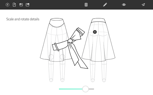 Fashion Design Flat Sketch 1.0 Screenshots 9