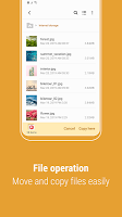 screenshot of Samsung My Files
