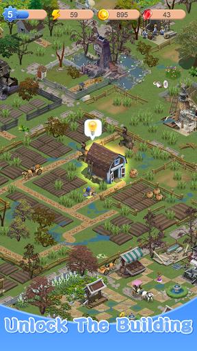 Merge Town : Design Farm  screenshots 14