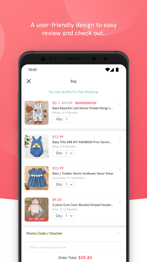 PatPat: Kids, Baby Clothing u2013 Daily Deals for Moms android2mod screenshots 4