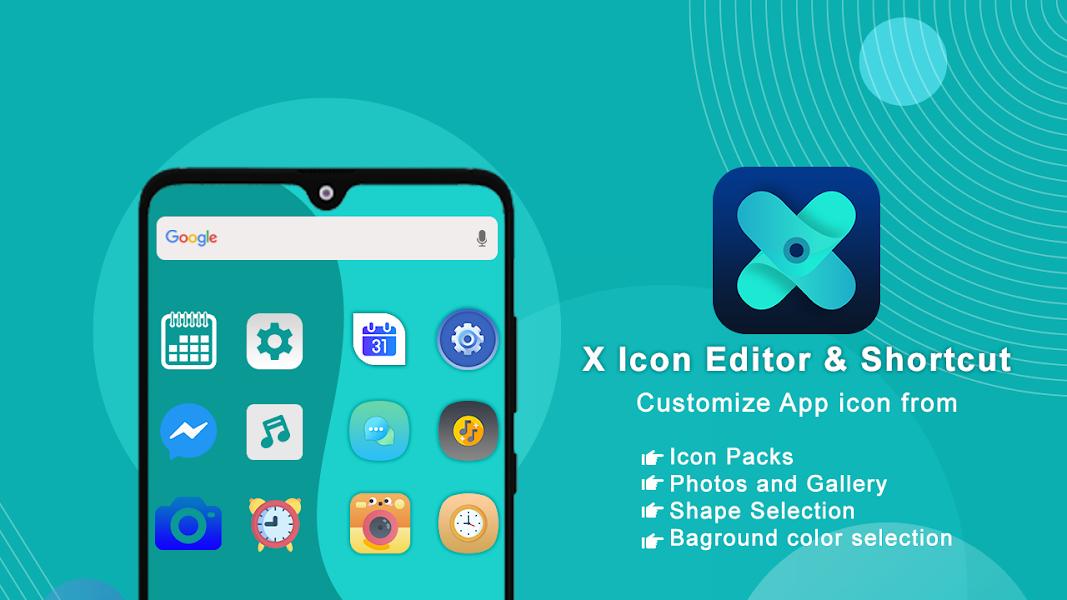 X Icon Editor (Customize App icon & Shortcut)