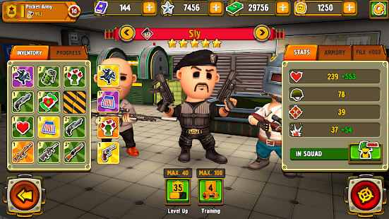 Pocket Troops: Strategy RPG Screenshot