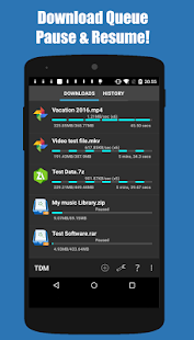 Turbo Download Manager (and Browser) Screenshot