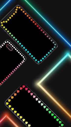 Edge Lighting Colors - Round Colors Galaxy  Screenshots 2