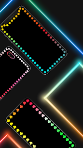 Edge Lighting Colors – Round Colors Galaxy 2
