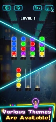 Light Sort Puzzle 1.4.1 screenshots 4