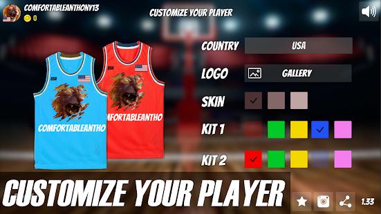 Toy Basketball Screenshot