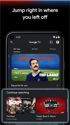 Google TV  Screenshots 5