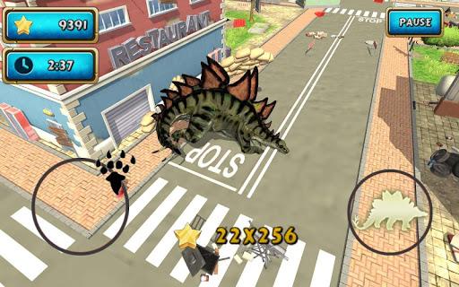 Dinosaur Simulator 2 Dino City  screenshots 11