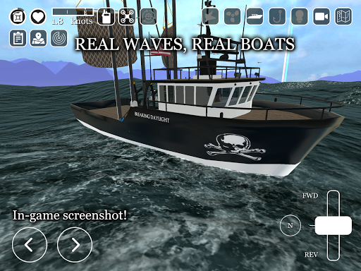 Boat Game ud83cudfa3 - Ship & Fishing Simulator uCaptain u26f5 5.9 screenshots 10