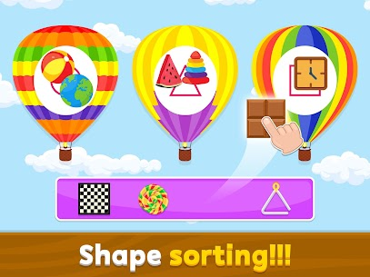 Kids Sorting Games – Learning For Kids 1.1.1 Latest MOD APK 2